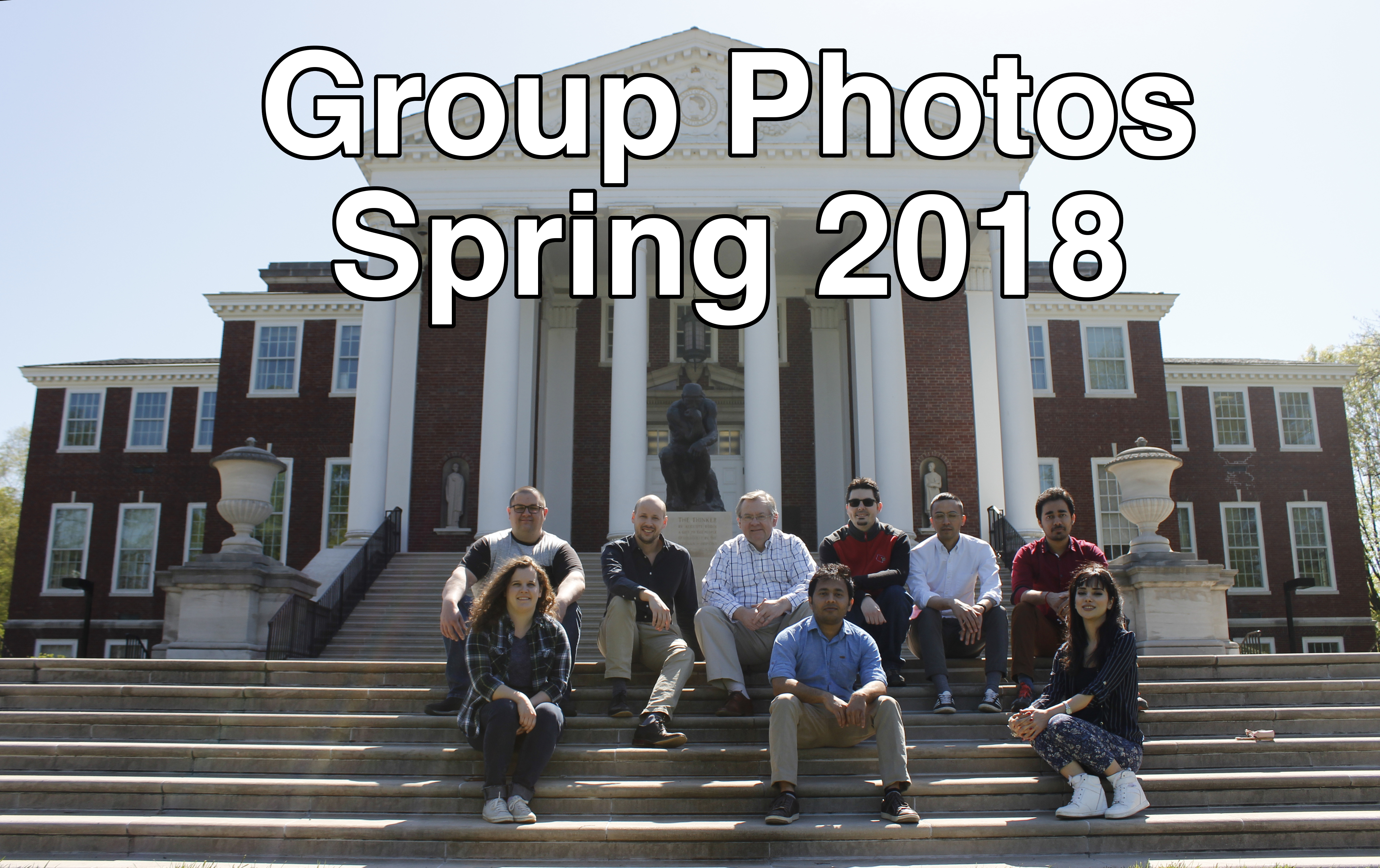 Group photo 2018