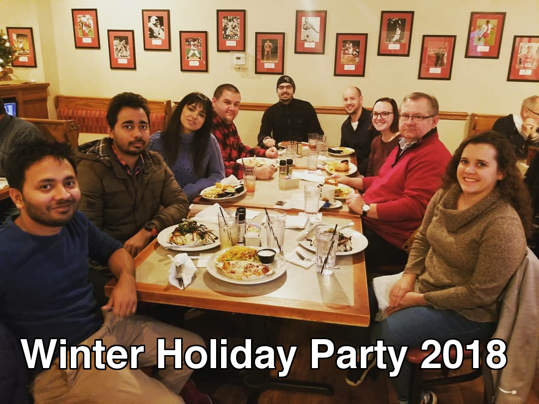 Winter holiday party 2018